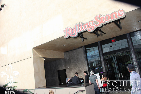 Oscar's Party Rolling Stone Lounge Hollywood 2012