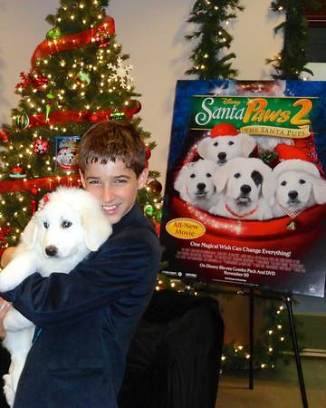 Josh Feldman - Disney Movie Santa Paws Premier - 2012