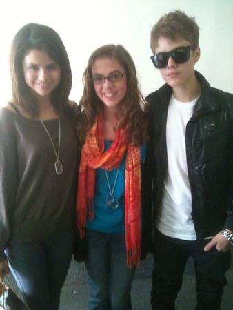 Selena Gomez - Justin Bieber And Friend